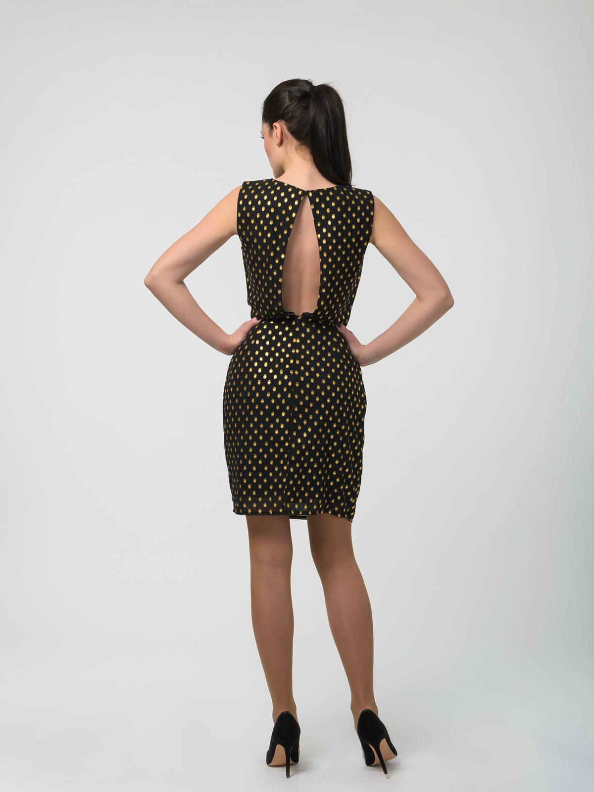 Платье ICHI 20106488 спина